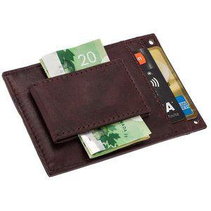 Artizanni Mens Leather Money Clip Wallet